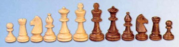 ChessEbook Schachfiguren aus Holz Staunton Nr 5 - 1