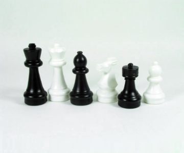Freiland Schachfiguren s/w klein (König 30 cm) - 1
