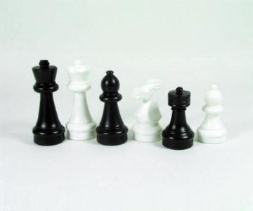 Freiland Schachfiguren s/w klein (König 30 cm) -
