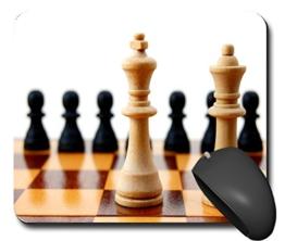 Mauspads Mouspad Mausunterlage Puzzle Strategie Schach Geschick schönes Design schick NEU 100MPN2847 - 1