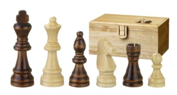 Philos 2002 – Schachfiguren Remus, Königshöhe 70 mm, in Figurenbox - 1