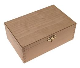 Schachfigurenbox, Kiste für Schachfiguren, Holzkiste, mittel -