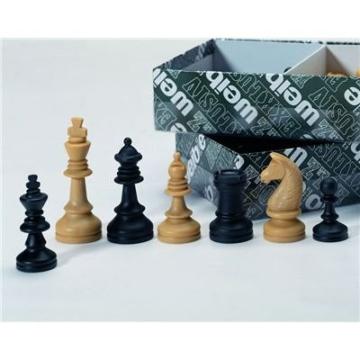 Weiblespiele 01012 – Schachfiguren, Kunststoff, 72 mm - 1